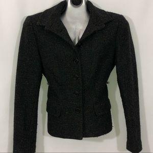 Lauren 5 button front pocket wool jacket